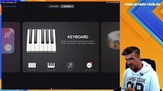 1 - Musik machen (oder so was in der Art) mit Garageband