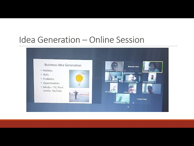 Idea Generation -  Online Session for Indian Army Veterans