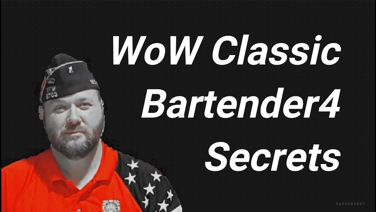 Bartender4 WoW Classic addon