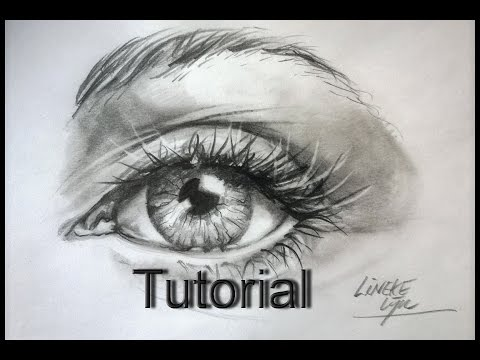 How to draw a Hyper Realistic Eye