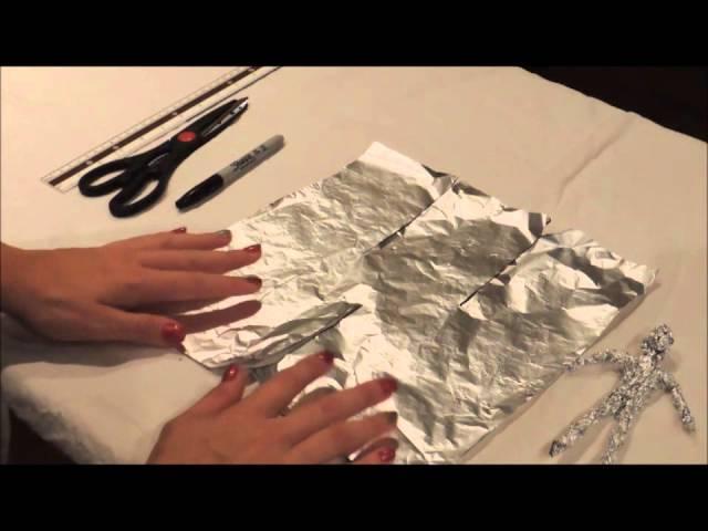 Zeer How to make a tin foil figure - YouTube RB14
