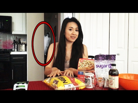 Creepy Ghost Interrupts Tutorial Video! - Real Caught on Tape ghost Video haunting vlog Yūrei