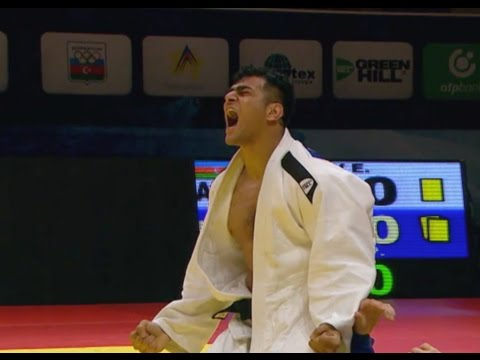 Elmar GASIMOV (AZE) -100kg Route To Final Baku GS 15
