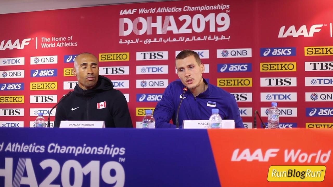 Doha WC 2019 - Men's Decathlon Final Press Conference