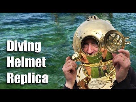 Morse MkV Diving Helmet Replica