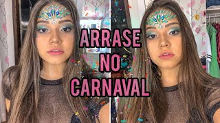 MAQUIAGEM PARA O CARNAVAL !!! ❤️