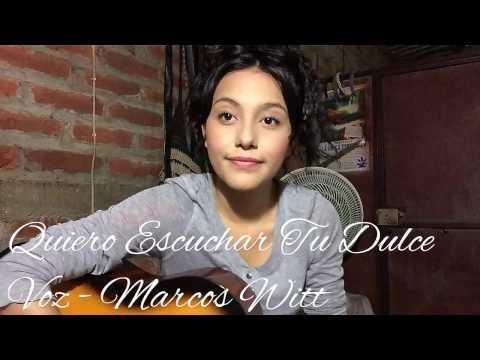 Quiero Escuchar Tu Dulce Voz (cover)