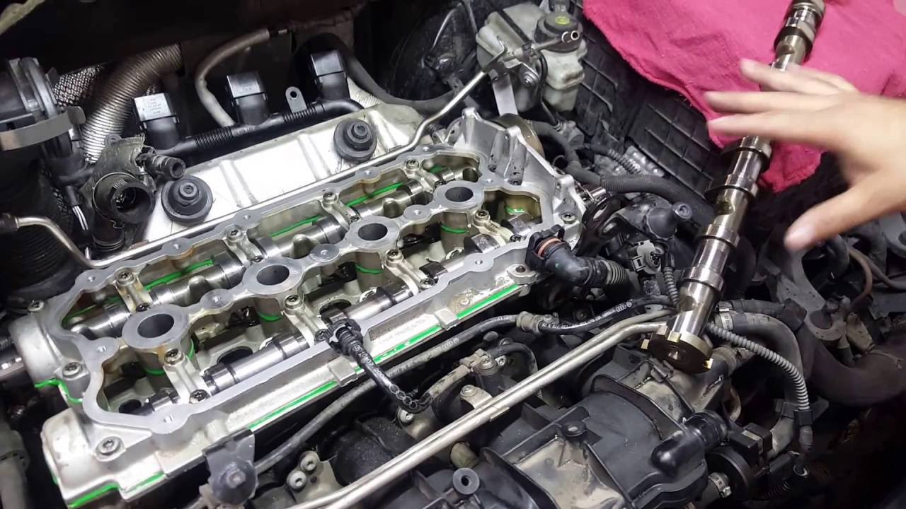 vw  audi 2 0t high pressure fuel pump  camshaft failure