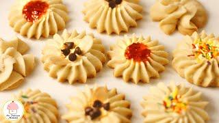 Galletas De Mantequilla, Fáciles Y Deliciosas / Butter Cookies, Easy And Delicious