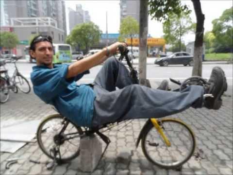 Diy Cswb Compact Short Wheel Base Rwd Recumbent Bike Youtube