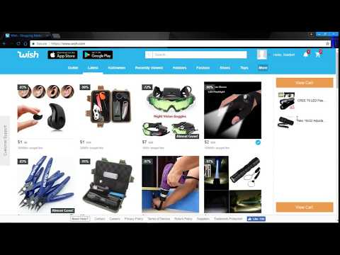 Wish Hack 2017!! How to get free stuff on wish!!