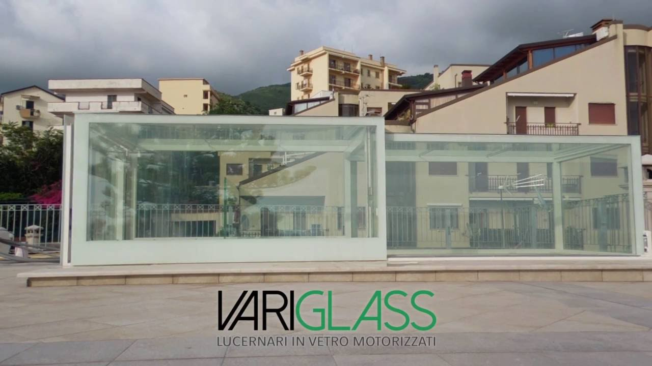 lucernari in vetro motorizzati variglass di archivetro