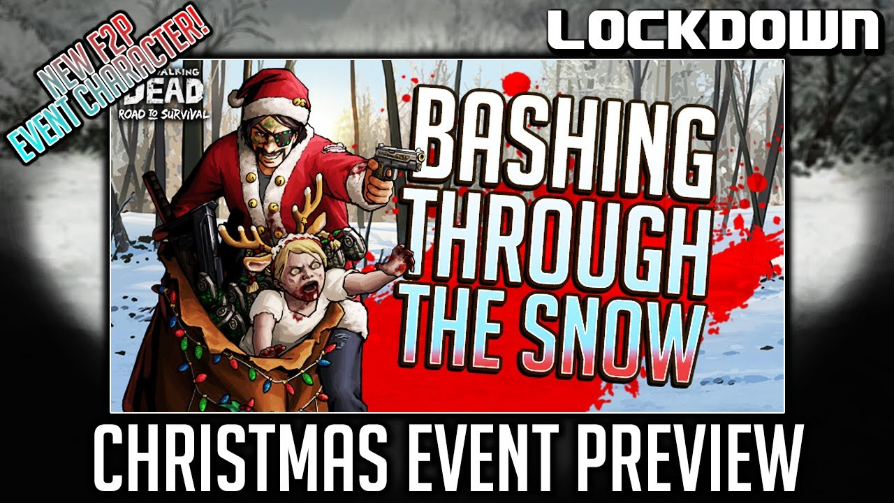 TWD RTS: Bashing Through the Snow, Christmas Event Preview - The Walking Dead: Road to Survival