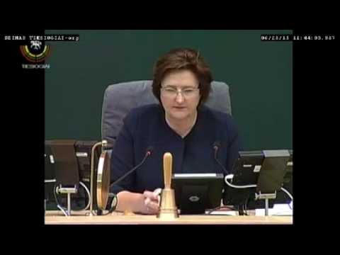 (Alkas.lt, lrs.lt) Seimas svarsto antikonstitucinį vardų ir pavardžių rašybos įstatymo projektą