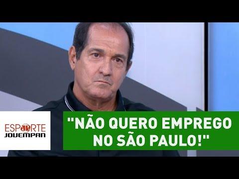 """Muricy, EXCLUSIVO! """"NÃO quero EMPREGO no SÃO PAULO!"""""""