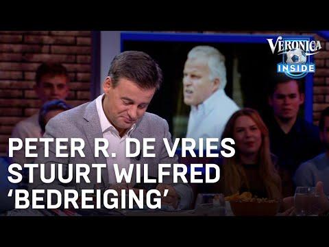 Peter R. de Vries stuurt Wilfred 'bedreiging' tijdens uitzending   VERONICA INSIDE