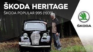 ŠKODA HERITAGE: ŠKODA POPULAR 995 (1939)