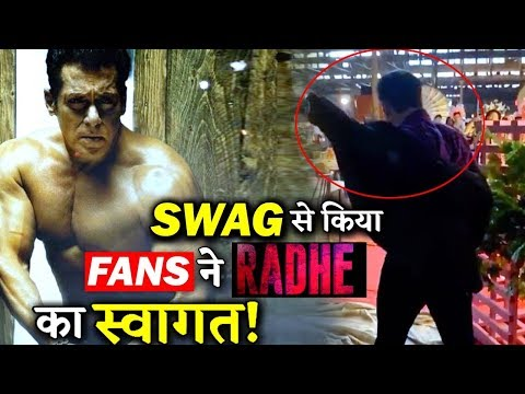 Fans Welcomed RADHE Aka Salman Khan With Swag On Its First Day Of Shoot Mp3
