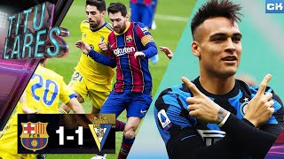 ¡lNTER golea al MlLAN! | Empatan al BARÇA, reacción de PlQUÉ | Ronaldinho, de LUTO