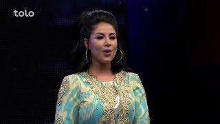 Arezo Nikben - Zere Chatre Eid Feter - TOLO TV / آرزو نیکبین - زیر چتر عید فطر - طلوع