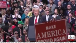 Full SPEECH: President Donald Trump Holds Rally in Nashville, TN 3/15/17