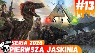 Pierwsza Jaskinia - Central Cave w ARK Survival Evolved PL | Seria 2020 #13 - Rizzer