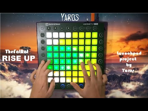 TheFatRat - Rise Up // Launchpad Performance