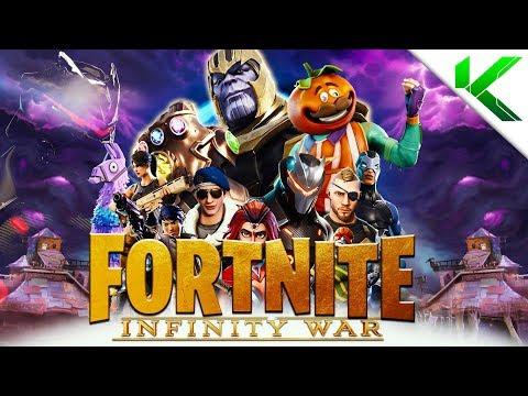 FORTNITE INFINITY WAR FULL MOVIE - (Fortnite BR Movie) - Fortnite: Battle Royale