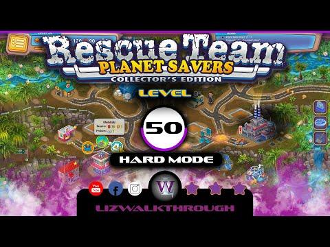 Rescue Team 11 - Level 50 Walkthrough (Planet Savers)  