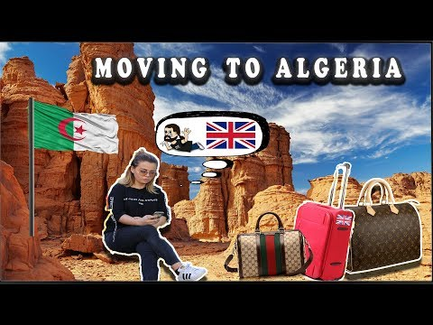 MOVING TO ALGERIA...