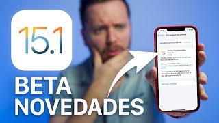 🔥 Apple lanza iOS 15.1 beta, estas son sus NOVEDADES