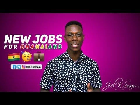 Jobs in Ghana (2019)