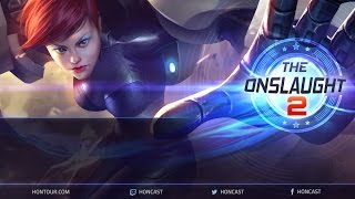 The Onslaught #2 WB Finals - Sync vs Rea game 2
