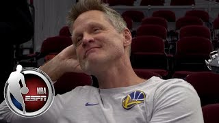 Steve Kerr compares Cavaliers-Warriors to 80's Lakers-Celtics rivalry   NBA on ESPN