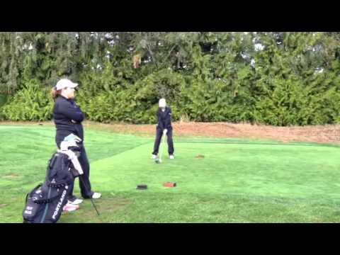 Kelly Miller Teeing Off at the Rose City Collegiate - Portland State Women
