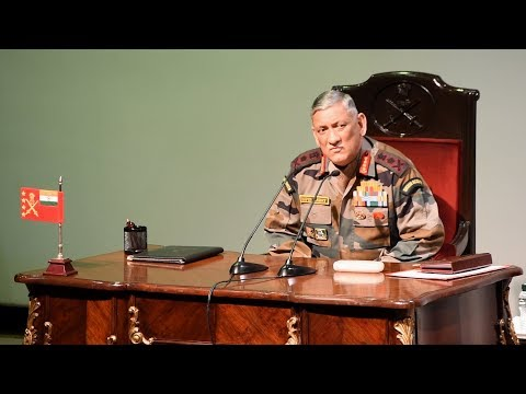 Army Chief Gen Bipin Rawat's Annual Press Conference Ahead of Army Day 2018 | Highlights