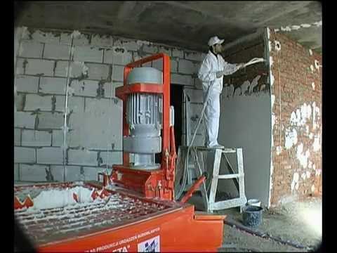 видео: Штукатурка стен knauf mp 75 video