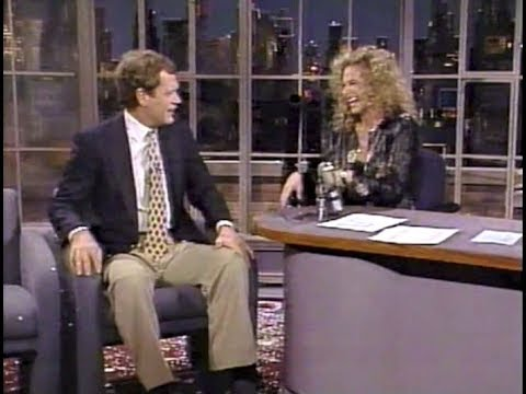 "Carole King, ""City Streets"" On Late Night, April 21, 1989"