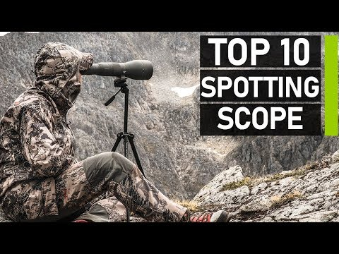 Top 10 Best Long Range Spotting Scope For Target Shooting & Hunting