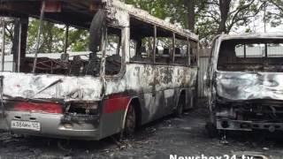Во Владивостоке неизвестные сожгли автотранспорт одной из автошкол