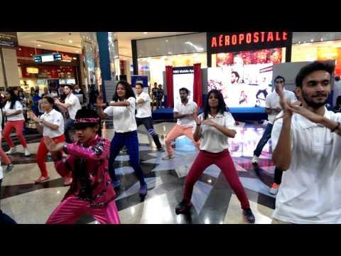 DDA Flash Mob at Muscat Grand Mall , Oman