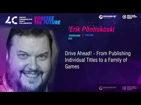 From Publishing Individual Titles to a Family of Games / Erik Pöntiskoski, CEO Dodreams