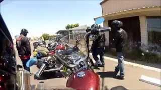 "POV of xxxdeadhead's ""motorvlogger meetup ride to Yosemite"" part 1"
