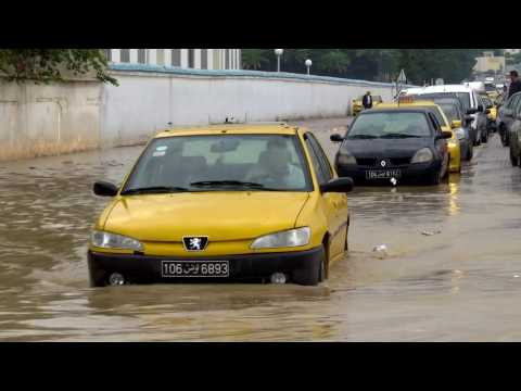 Tunis Flooded