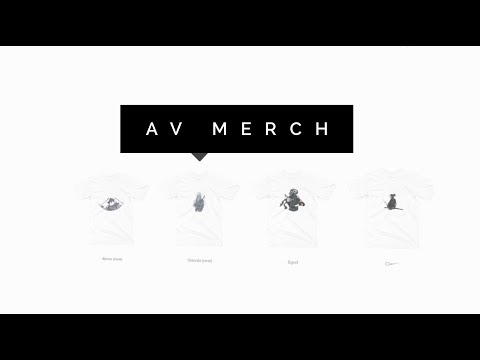 AV Merch Promo (Free shipping for a limited time)