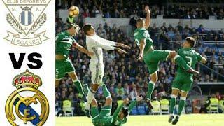 Real Madrid vs Leganes 3-1 All Goals   Highlights football 21-02-2018 HD(720p)