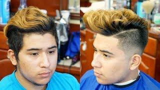 Haircut Tutorial: Skin Fade With Pompadour
