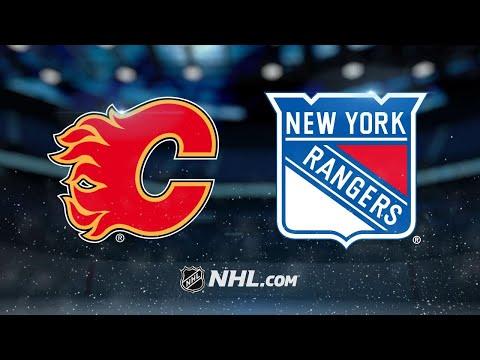 Lundqvist, Zibanejad lead Rangers past Flames, 4-3