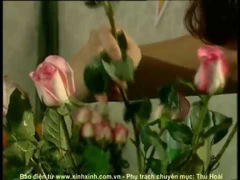 Xinhxinh.com.vn - Cắm hoa hồng