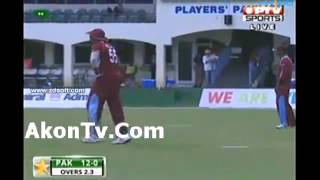Pakistan vs West Indies Full Match Highlights - 2nd t20 - Pak batting - 28 july 2013